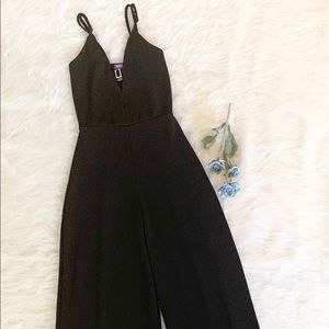 HOT GAL | Black Jumpsuit - XS